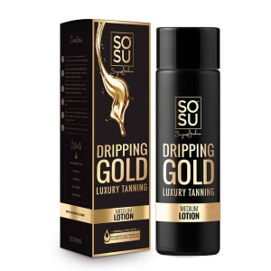SOSU Dripping Gold Luxury Tan Lotion 200ml