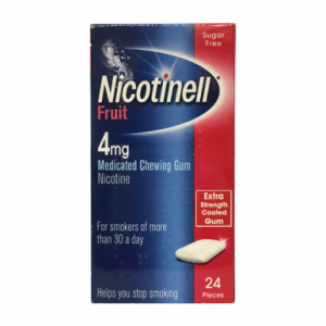 Nicotinell Fruit 4mg Medicated Chewing Gum