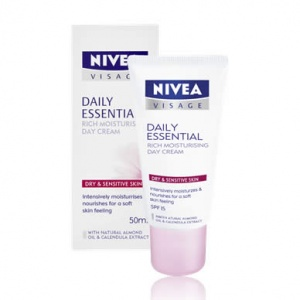Nivea Daily Essentials Rich Moisturising Day Cream 50ml