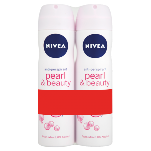 Nivea Pearl & Beauty Anti-Perspirant 150ml Twin Pack