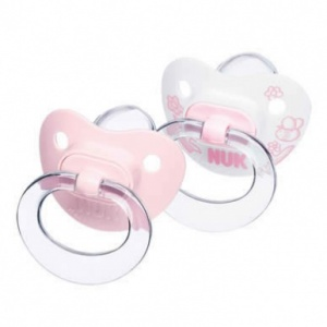 NUK Baby Rose Soother Size 1