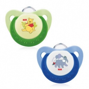 NUK Disney Soothers Winnie the Pooh