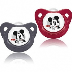 NUK Disney Mickey & Minnie Soothers Size 2