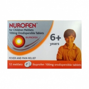 Nurofen for Children Meltlets 6+ 12 pack