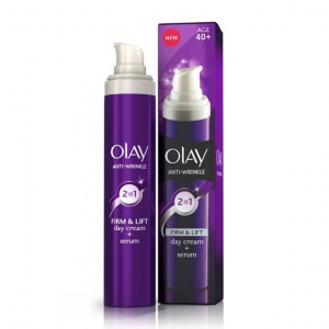 Olay Anti-Wrinkle Firm & Lift 2in1 Day Cream & Serum 50ml