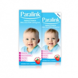 Paralink Paracetamol Oral Solution 120mg/5ml