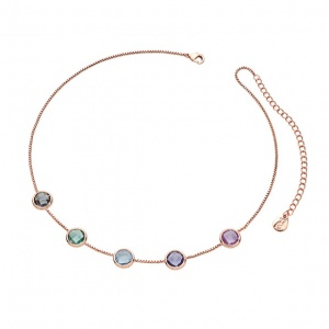 Tipperary Crystal Pastel Choker Necklace