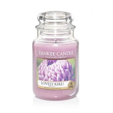 Yankee Candle Lovely Kiku Large Jar